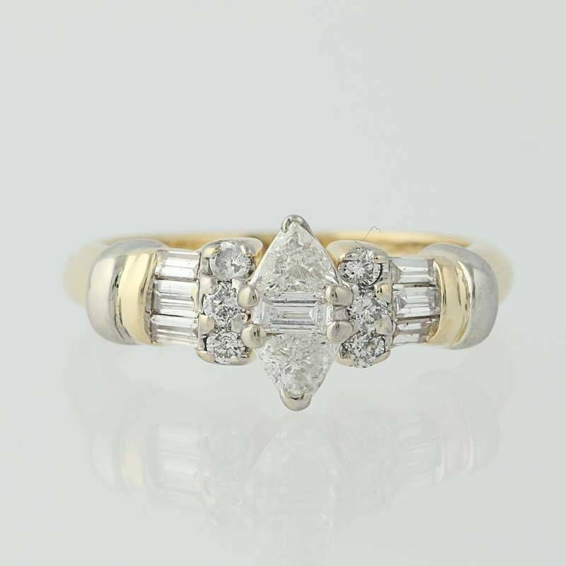 round itm halo bridal gold diamond a engagement ring composite wg genuine dia cut