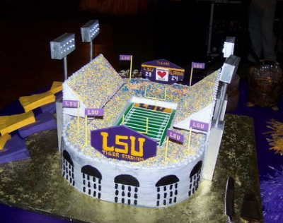 Louisiana State University Lsu Football Stadium Themed