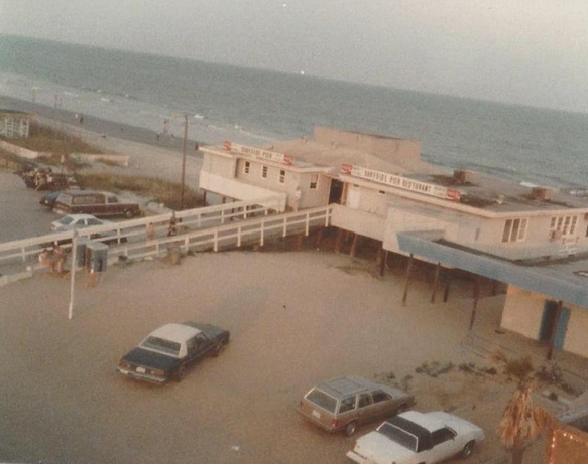 Surfside Pier Circa 1984 Surfside Beach Sc With Images Myrtle