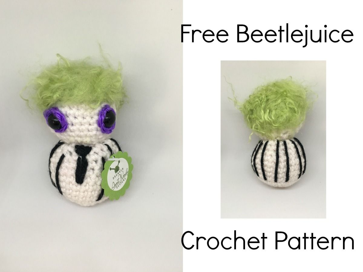 Beetlejuice – Free Pattern | CROCHET LOVE | Pinterest