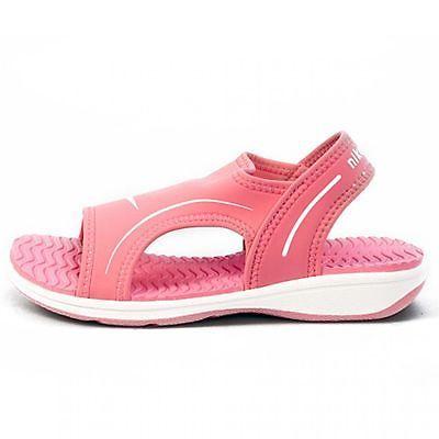 NIKE SUNRAY VIII PS LITTLE KIDS 309541-611 Pink Sandals Slides Girls Youth Sz 3