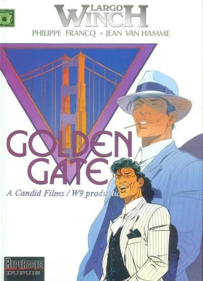 Largo Winch 11 Golden Gate Bd Largo Winch Jean Van Hamme Bd Humour