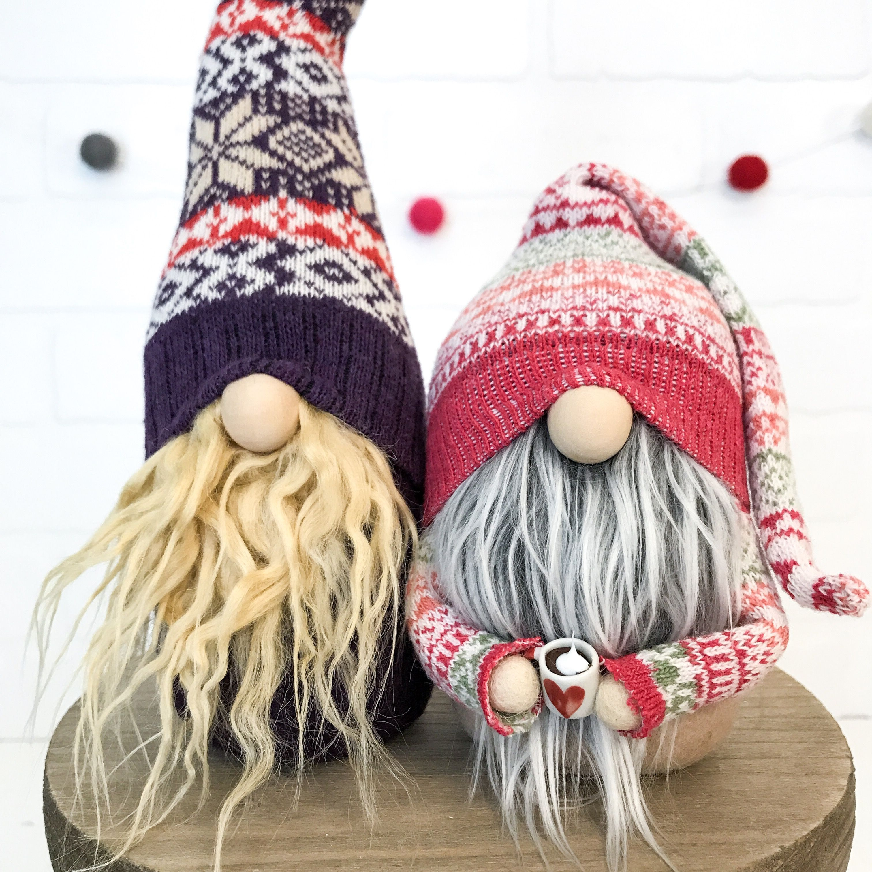 Hand-crafted Sweater Gnome