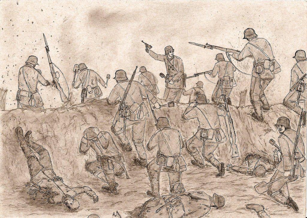 Image Dessin de SYLVIE du tableau DRAWINGS OF THE World War I | Peinture, Affiche