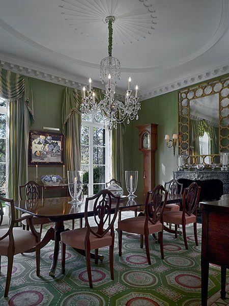 stunning elegant living room georgian   Norman Davenport Askins Architect   Atlanta, GA   Elegant ...