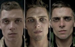 I volti dei nostri (occidentali) soldati ritratti prima, durante e dopo la guerra. www.lab-ncs.com