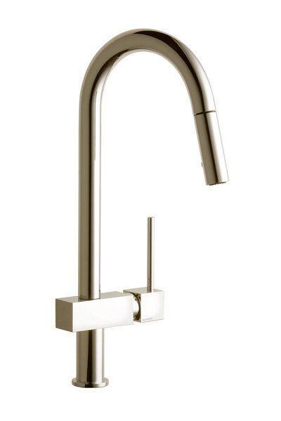 Elkay Lkav1031 Avado Single Handle Kitchen Faucet With Pull Out Cool Single Handle Kitchen Faucet Inspiration Design