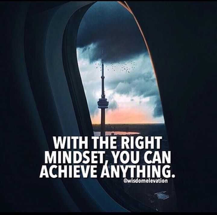 Positive Quotes With The Right Mindset You Can Achieve Anything