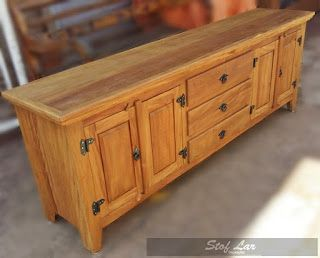 Credenza Finca Rustica : Stof lar decorações móveis em madeira de demolição : arcaz com
