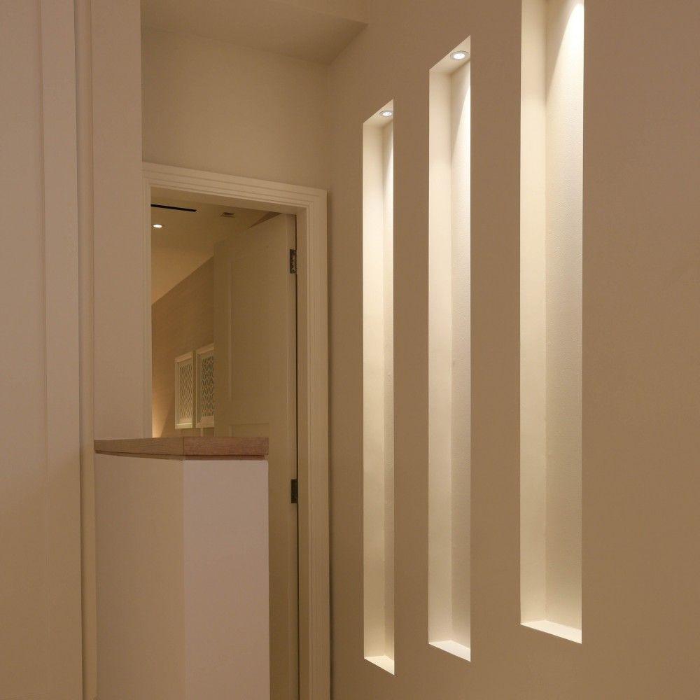 Lighting Basement Washroom Stairs: Közlekedő In 2019