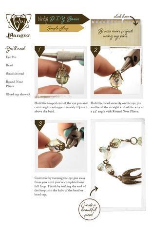 Vintaj DIY Jewelry Simple Loop