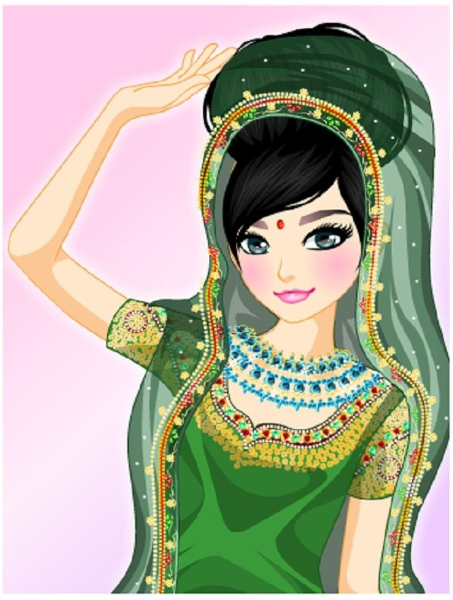 Indian fashion dress up games online