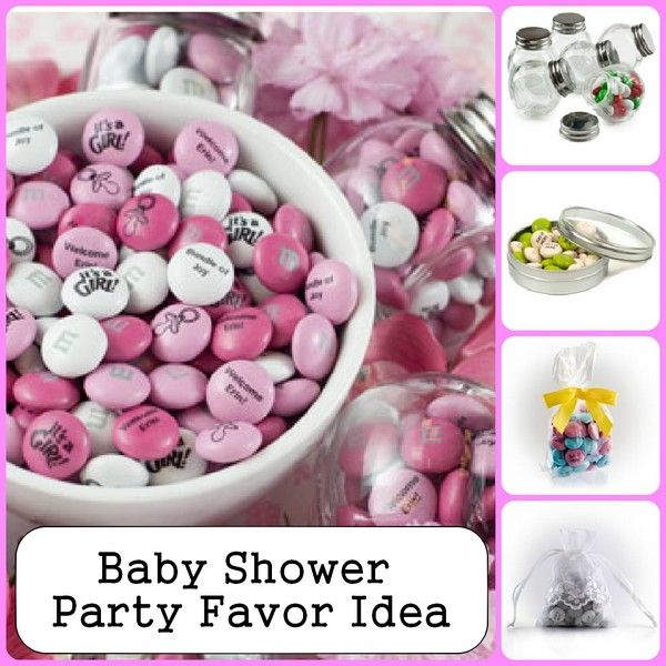 Baby Shower Favor Ideas Personalized M Ms Its A Girl Unisex