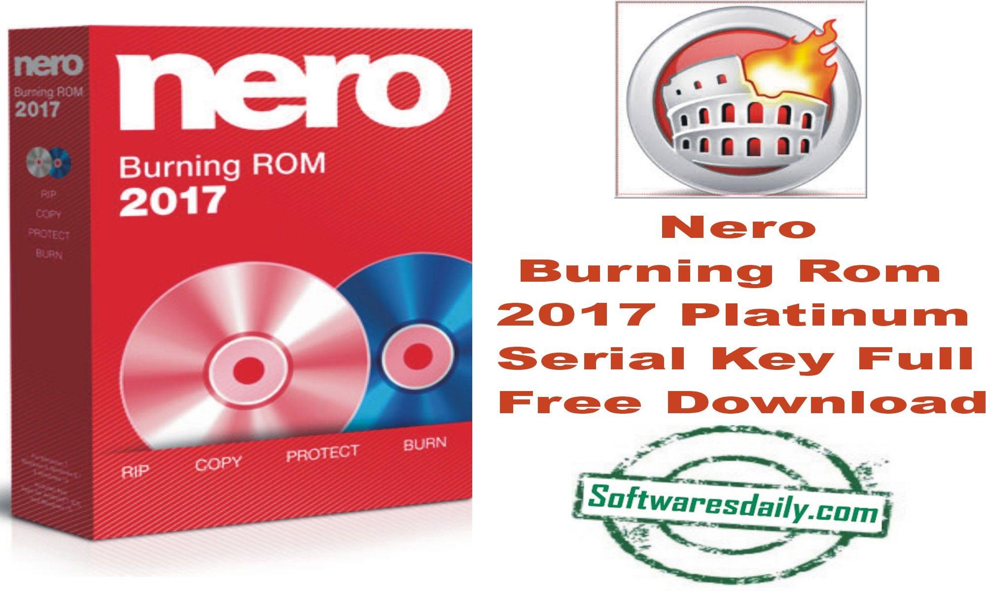 nero 2017 platinum full version free download
