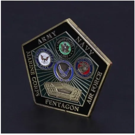 UNITED STATES DEPARTMENT OF DEFENSE PENTAGON SHAPED