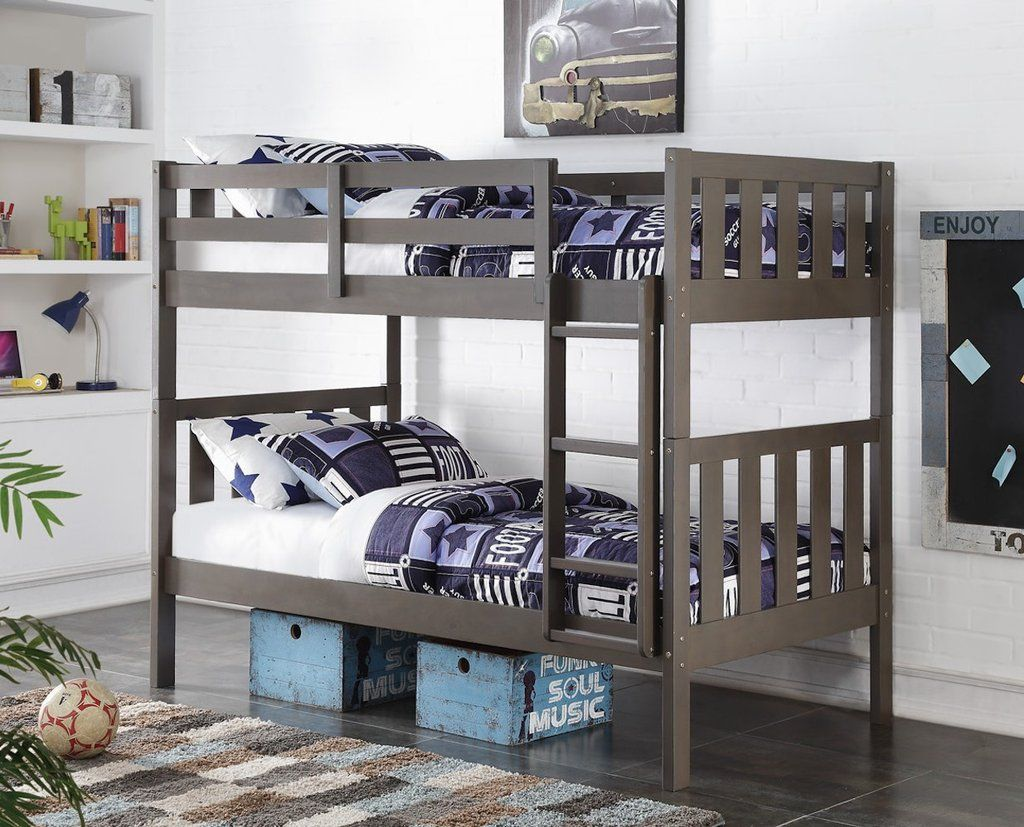 nathan slate gray bunk bed double bunk beds double bunk and bunk bed