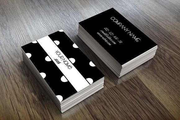 Black and white business card business cards adobe photoshop and black and white business card wajeb Choice Image