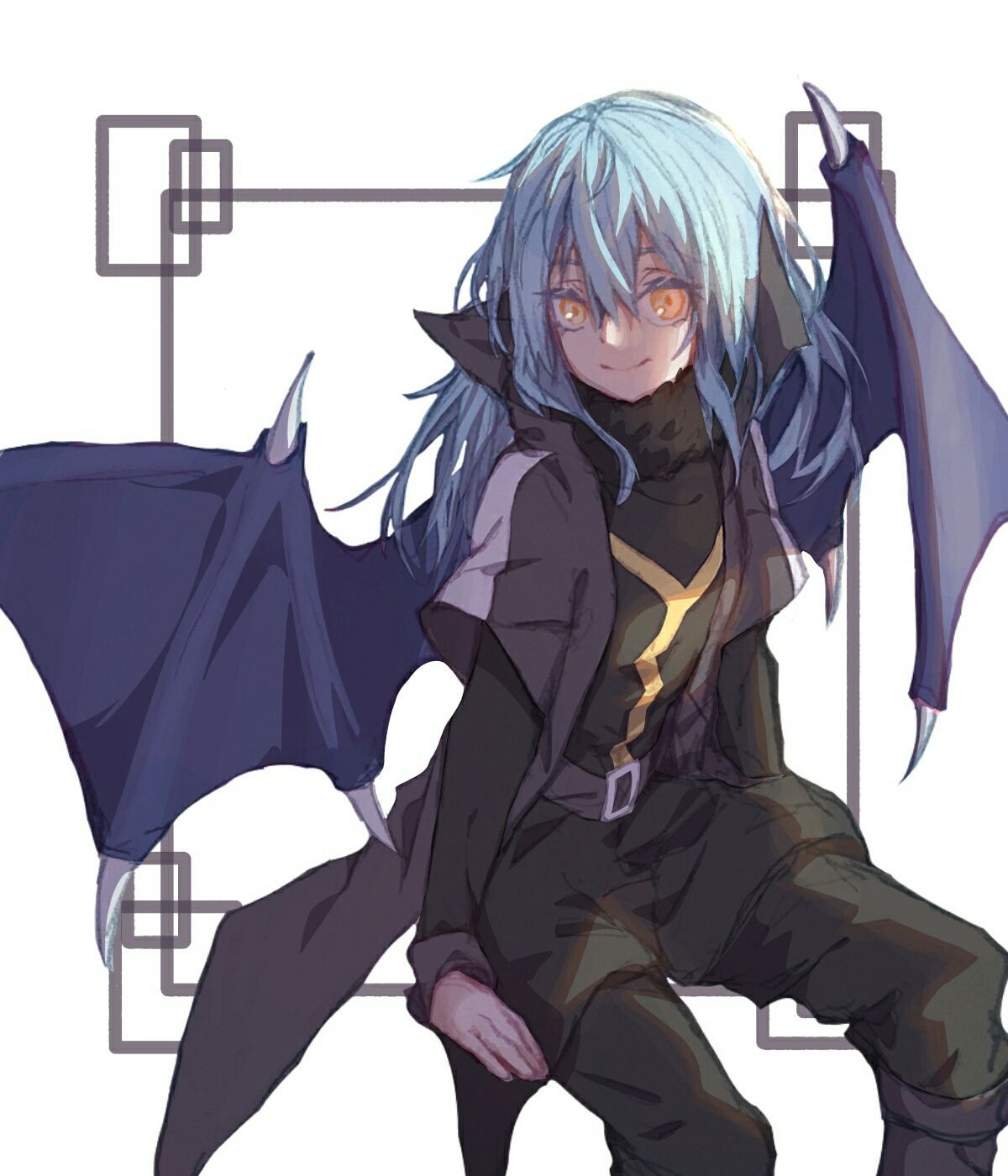 He is sexless but not genderless. Rimuru Tempest x How Not To Summon A Demon Lord | Blue ...