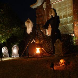 Perfect Halloween Decorations Witches Outdoor