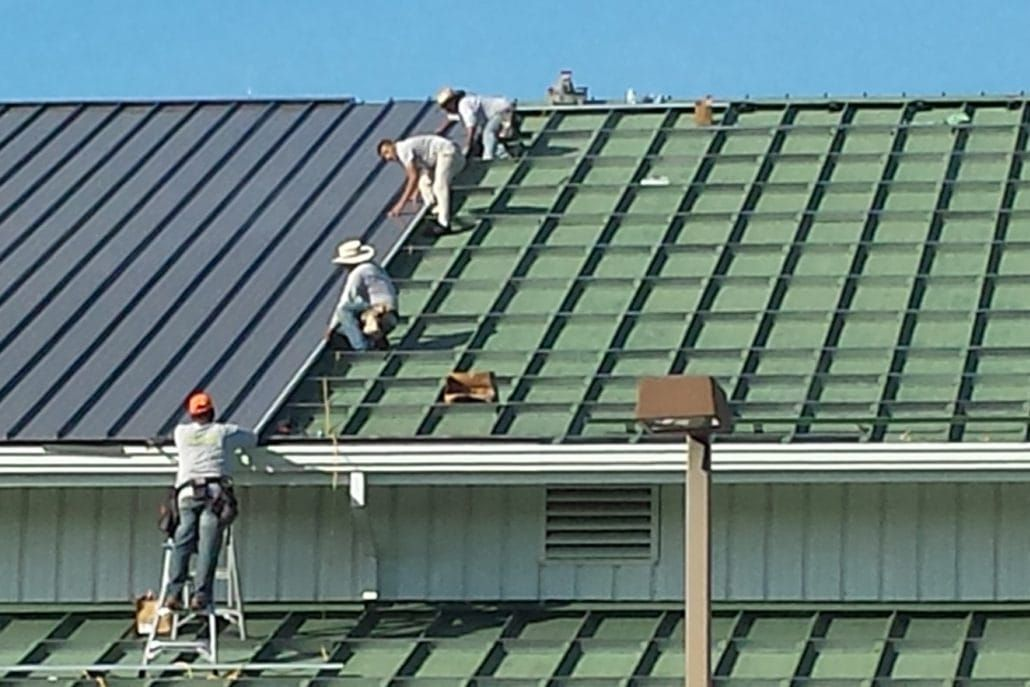 The Benefits Of Metal Roof Restoration In Adelaide Roof Restoration Metal Roof Leaks Metal Roof Repair