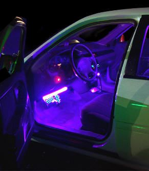 Car interior lights interior lighting at ridin 39 like a balla d pinterest for Interior neon lights for trucks