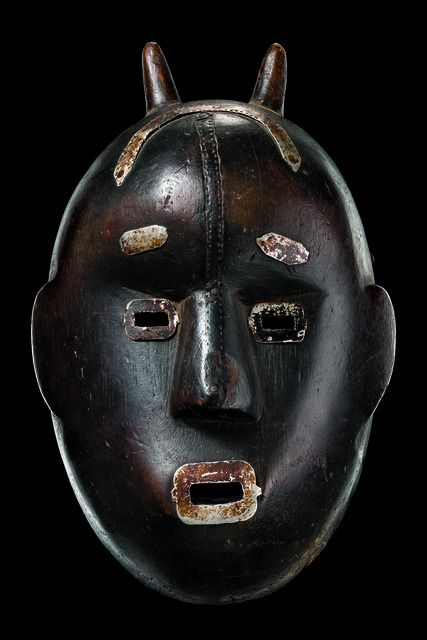 Mask with small horns, Mali, Bamana