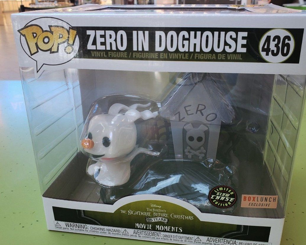 Funkopop Zero Doghouse Box Lunch Exclusive Movie Moment Chase