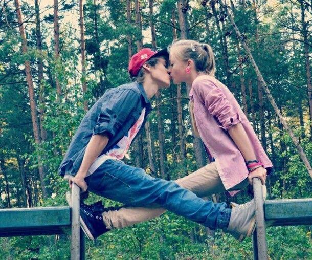 Amazing Kisses Pink Summer Couple Kiss Cute Beautiful Love Romance Boy Girl Passion Hot Sexy Fashion Stylish Cute Sweet OMG