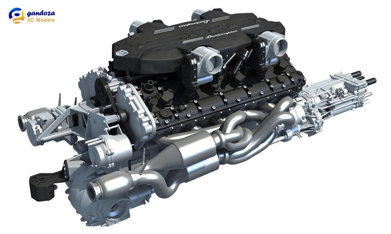 3d 6 v12 lamborghini engine car engine pinterest lamborghini rh pinterest com lamborghini gallardo engine diagram lamborghini gallardo engine diagram