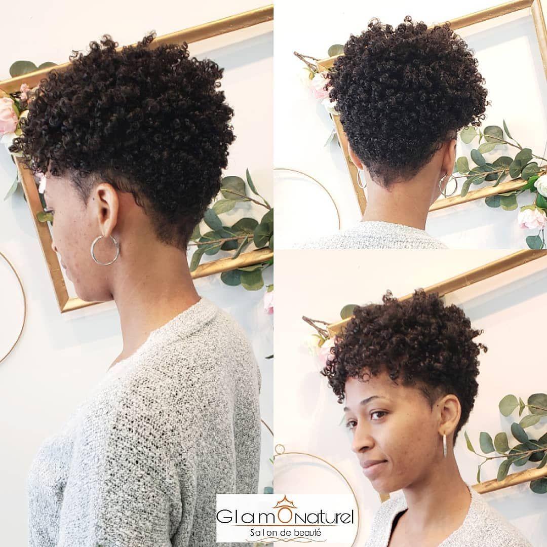 Glam O Naturel Unisexe On Instagram Cette Cliente Voulait Un Nouveau Depart Quoi De Mieux Qu Une Belle Coupe E Natural Hair Styles Hair Lengths Hair
