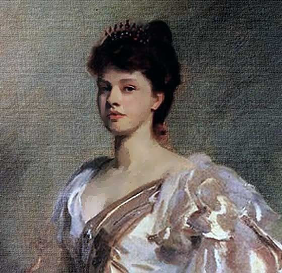 Cuadro norteamericano impresionista, retrato original por Sargent.