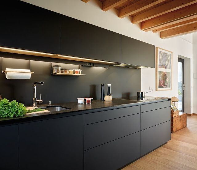 Cocina en negro da40c9366d4f