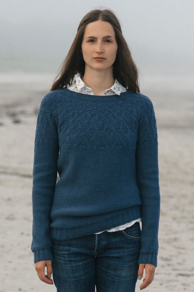 brooke sweater knitting pattern - Quince and Co | Sweaters, Jackets ...