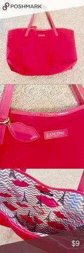 Lancôme Large Pink Tote Bag Never used large bright pink Lancôme tote bag! It ... - Lancôme Large Pink Tote Bag Never used large bright pink Lancôme tote bag! It …    Lancôme Larg - #BAG #Bright #Brows #CutCrease #EyeMakeup #Eyebrows #Eyelashes #Eyeliner #Eyeshadows #GelLiner #GorgeousMakeup #Lancôme #Large #Lashes #LindaHallberg #LipColors #Lips #Lipsticks #MakeupGeek #MakeupLooks #Nyx #Pink #PinkLips #SmokyEye #TOTE #WingedLiner