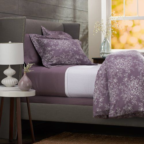 Pinzon 160-Gram Printed 100-Percent Cotton Flannel Duvet Cover, Twin, Floral Lavender Pinzon by Amazon.com http://www.amazon.com/dp/B00CL55CT6/ref=cm_sw_r_pi_dp_mspdub0QTCV7F