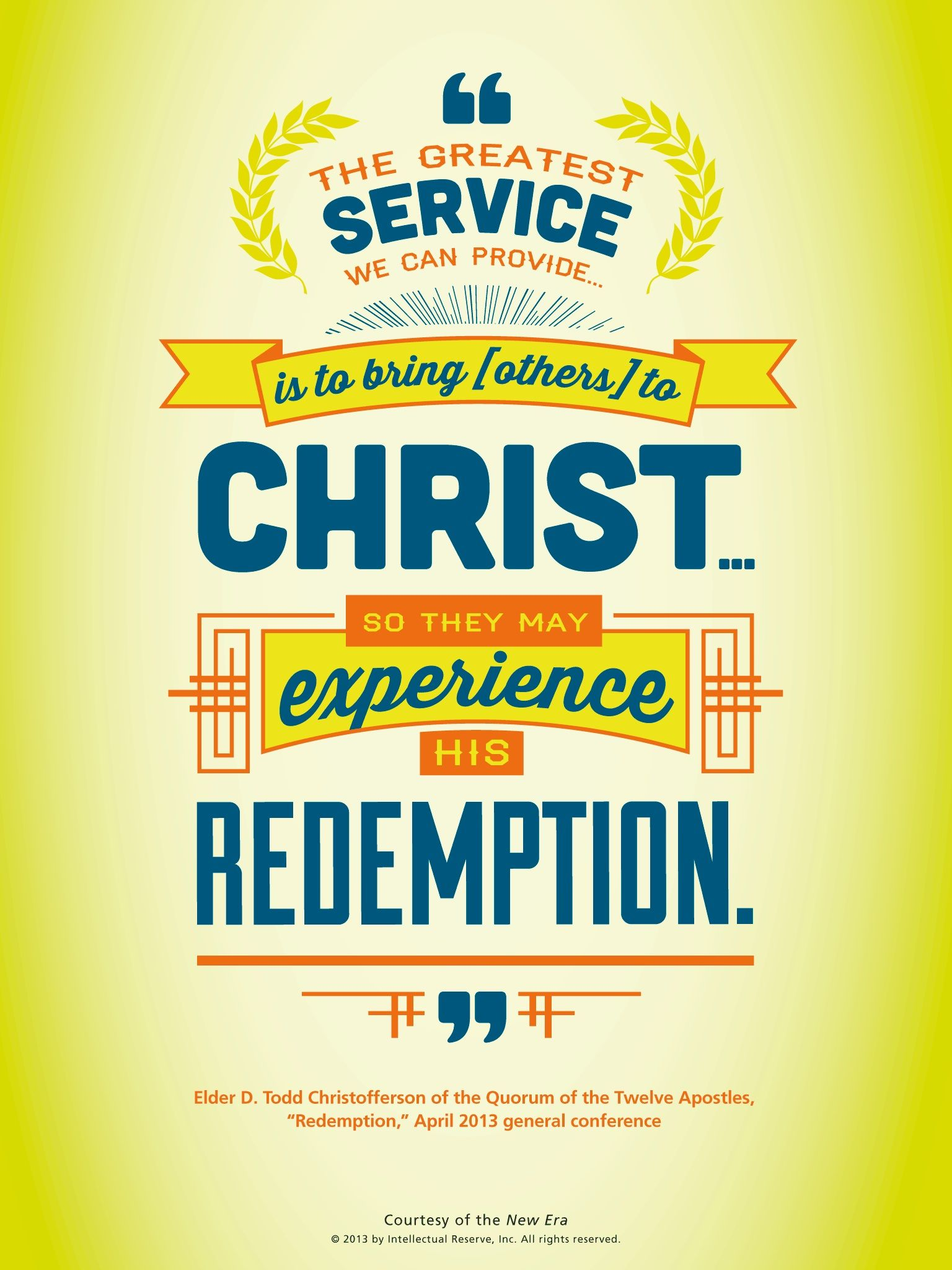 Lds quote elder d todd christofferson speaks about how