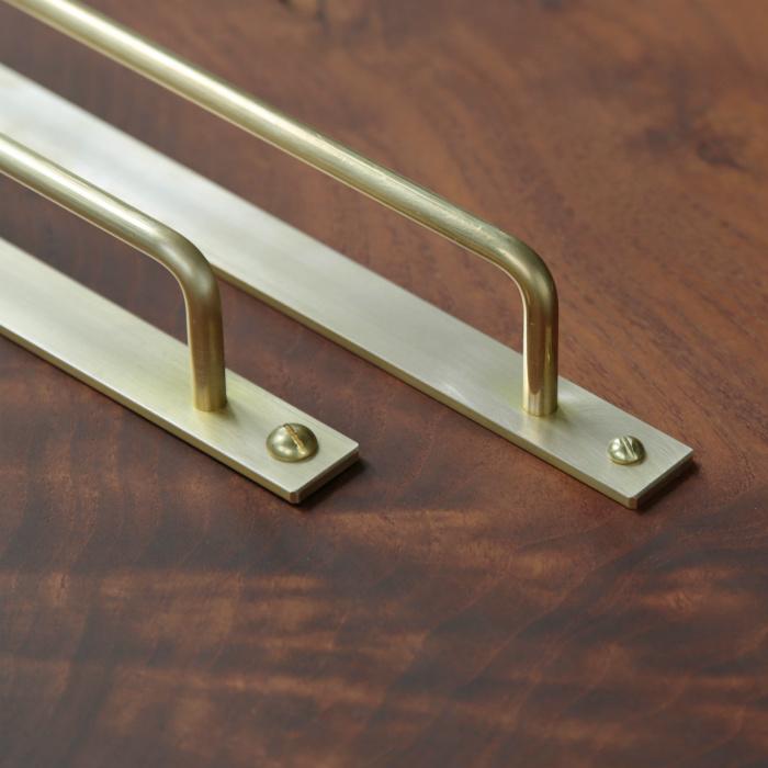 丸棒スクエアドアハンドル 真鍮 ドアハンドル オリジナル家具 金物の上手工作所オンラインショップ 2020 ドアハンドル ドア ハンドル