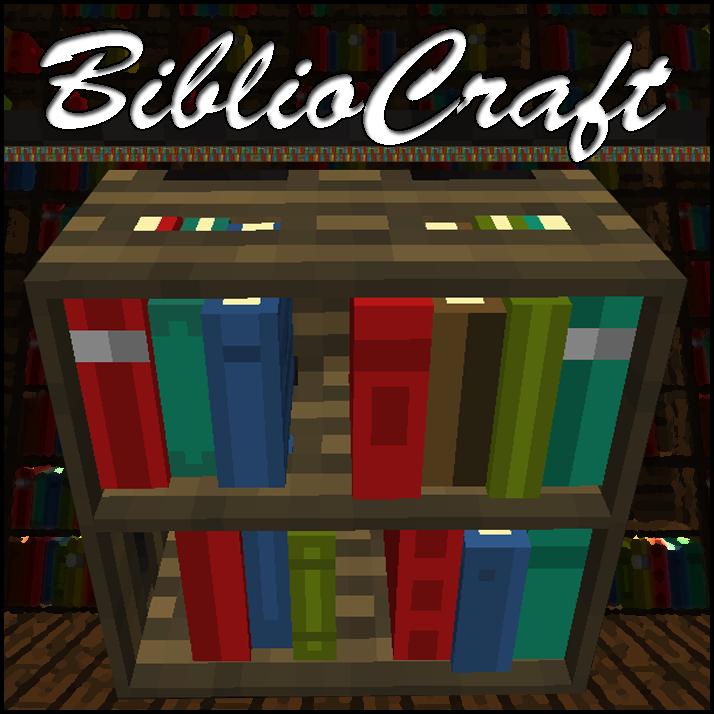 BiblioCraft | Minecraft 2 | Pinterest | Minecraft, Minecraft