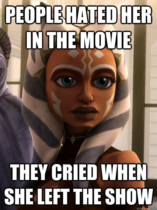 Ahsoka Tano Memes Quickmeme Star Wars Rebels Clone Wars Ahsoka Clone Wars