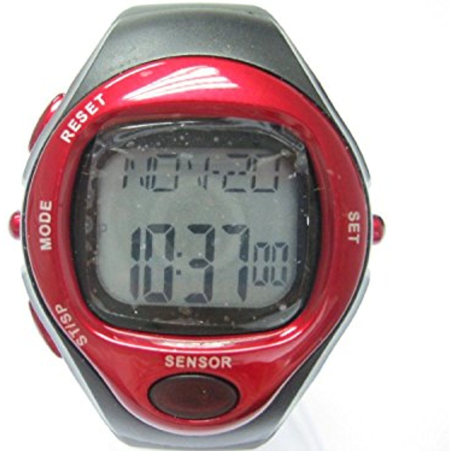 Heart Rate Monitor Watch Red Color – for Men
