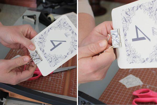 Diy Table Numbers Holders Table Numbers Wedding Diy Diy Table Numbers Diy Wedding Table