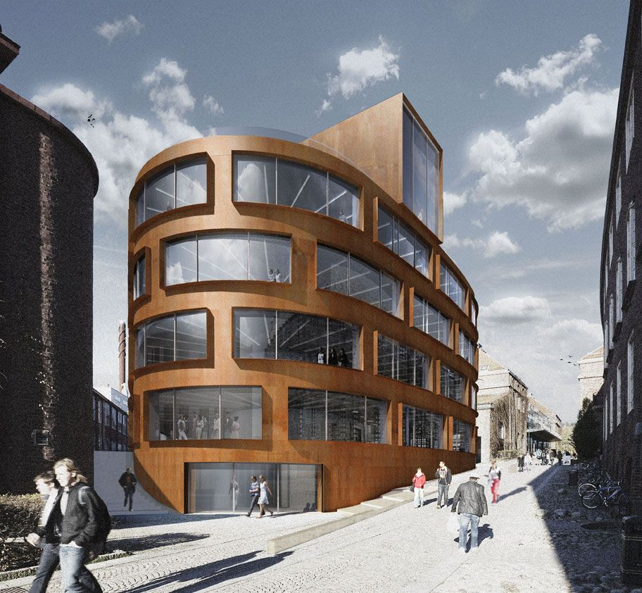 New School of Architecture and C&us Entrance for the Royal Institute of Technology (KTH) & New School of Architecture and Campus Entrance for the Royal ...