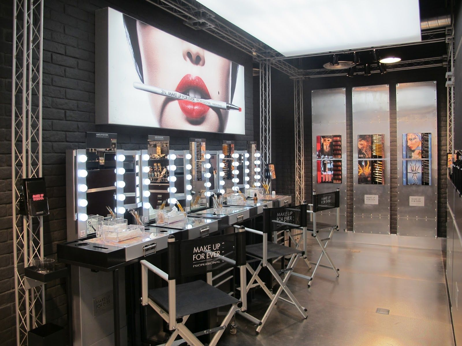 salon interior Futuristic Salon Interior Design Salon