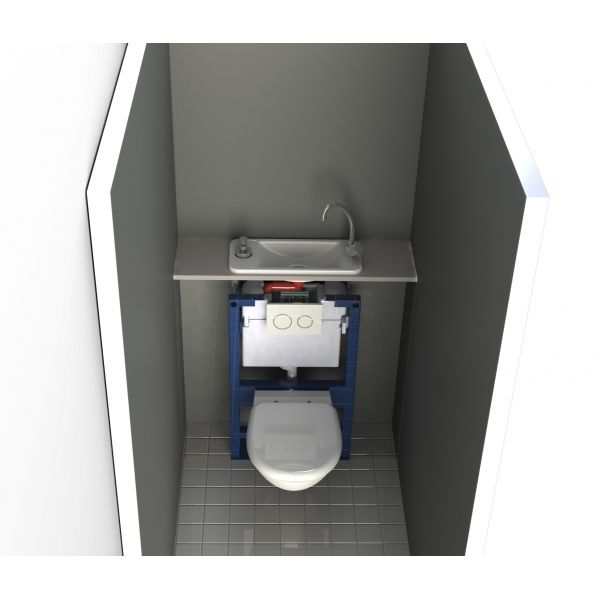 Wici Next Geberit Wall Mounted Toilet And Sink Combo Wici