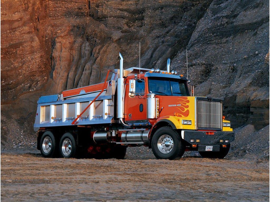 Western Star Dump Truck Dump Trucks Big Rig Trucks Western