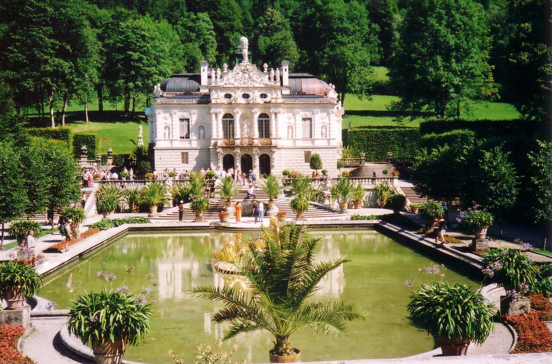 Schloss Linderhof Schloss Linderhof Schloss Und Gartenverwaltung Linderhof Linderhof 12 Schloss Linderhof Hochbau Linderhof