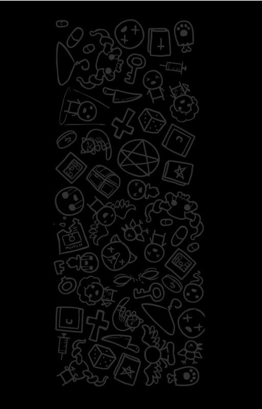 The Binding Of Isaac Rebirth Scribbles Iphone Case By Joe