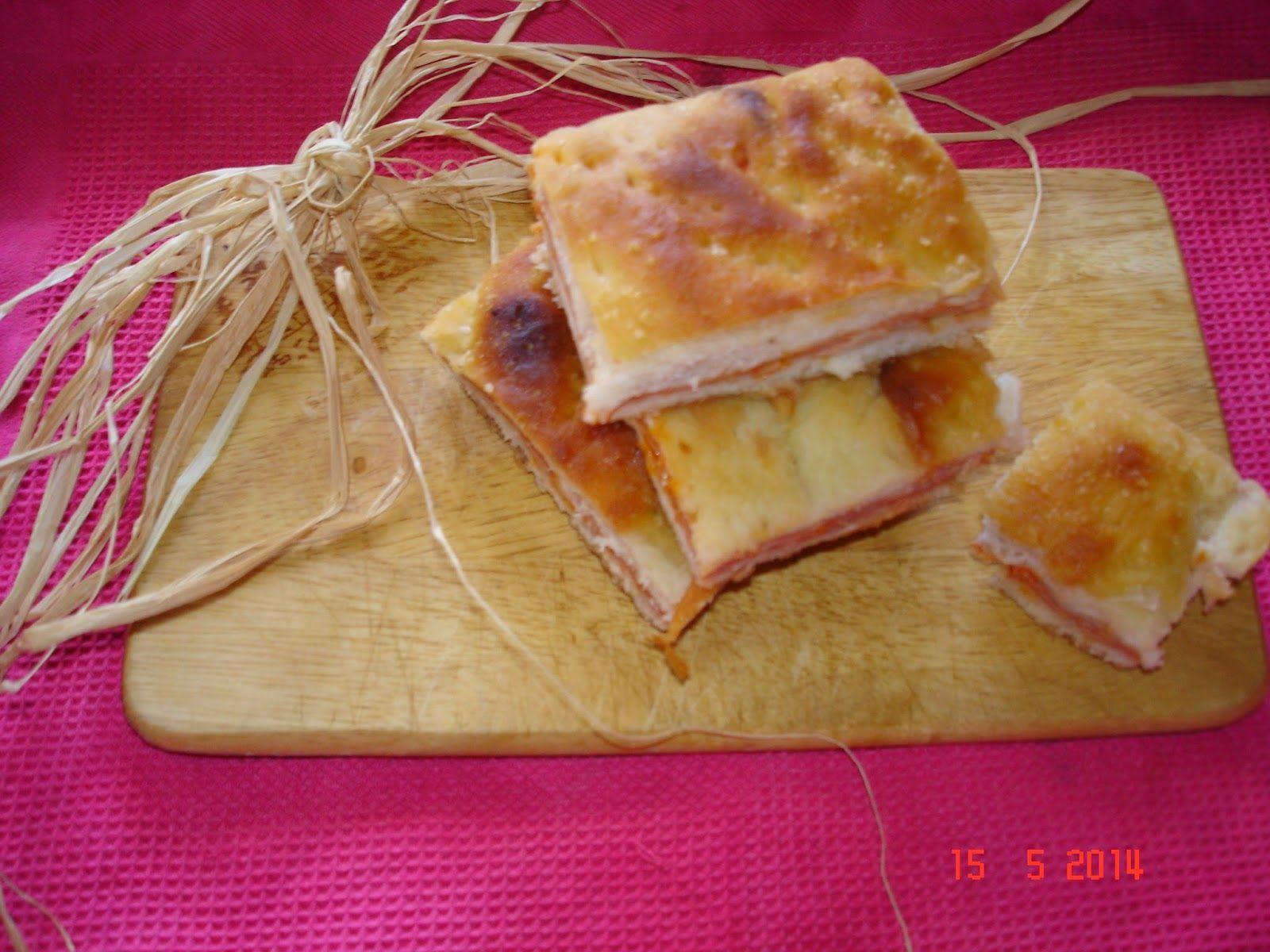 Favole a Merenda: Focaccia del nonno ripiena di prosciutto e formagg...