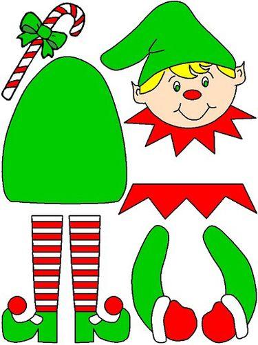 Moldes de fieltro es facil fieltro y molde - Manualidades navidad primaria ...