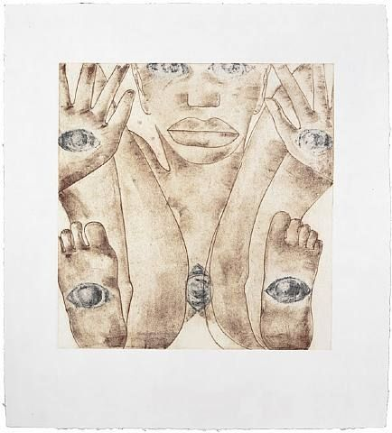 Francesco Clemente, East, 1992